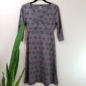 Toad&Co Rosalinda Dress  Knit A line XS black
